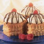 White Chocolate Mousse Pastry