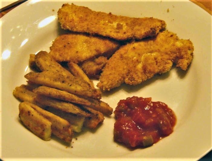 05 Serving Chicken Strips