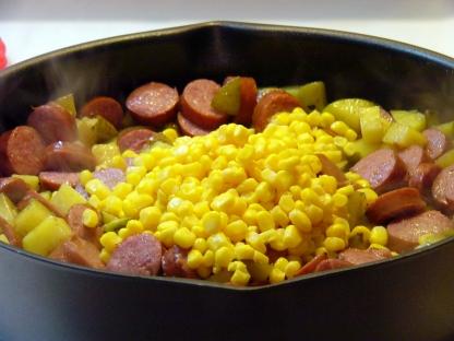 corny-smoked-sausage-fried-potatoes-8