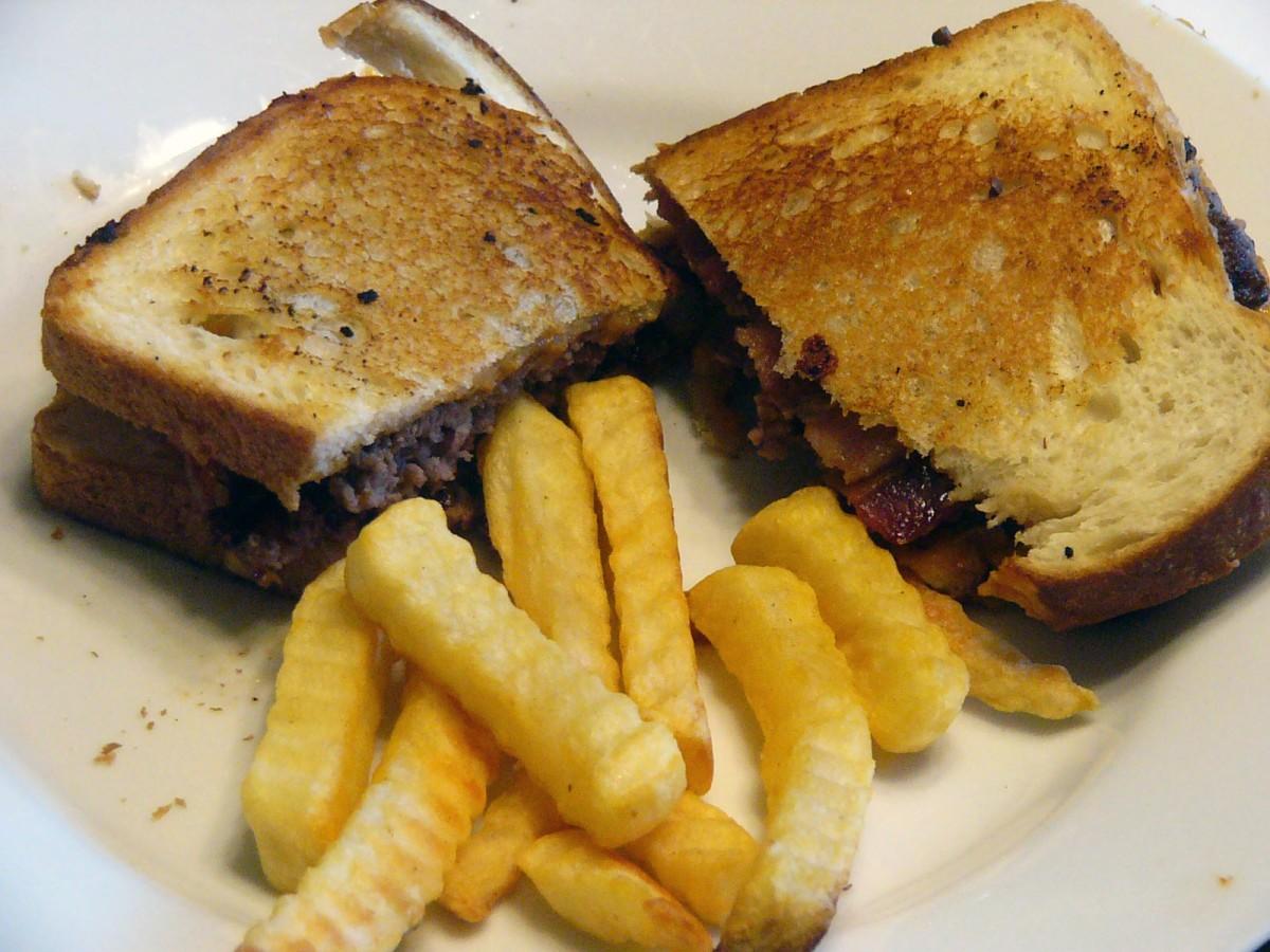 Diner-Style Sourdough BaconBurgers
