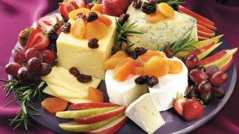 fruit and cheese1