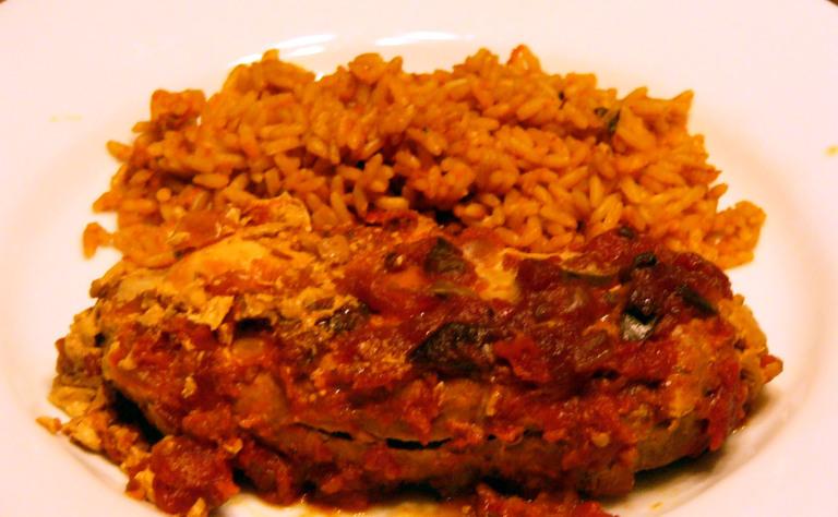 Slow Cooker Pollo en Salsa PicanteRojo