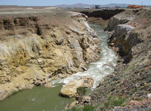 Shoshone river east cody