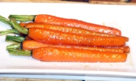 Browned Butter Whisky Carrots
