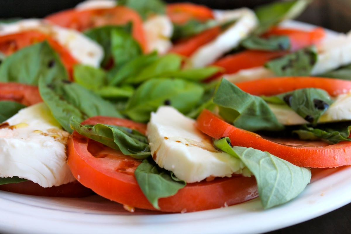 The Colors of Italy are in a CapreseSalad