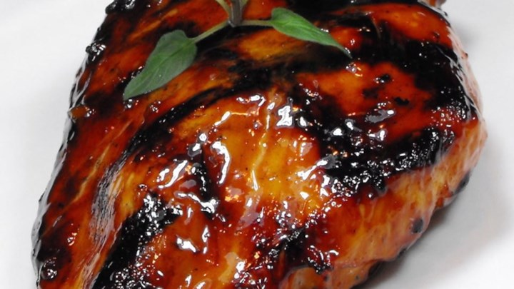 Asian Barbecued ChickenThighs