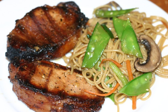 Asian Inspired Pork Chops (4)