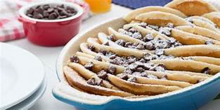 chocolate chip pancake casserole