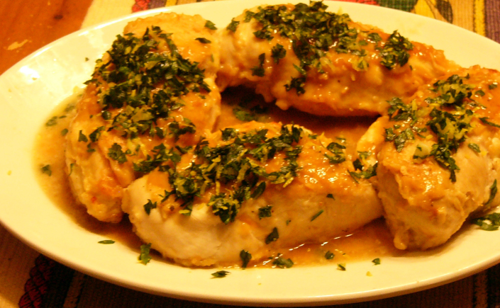 Lemon Parsley Chicken withGarlic