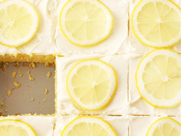 Shout Summer with a Lemonade Cake and Lemonade-Buttercream Frosting