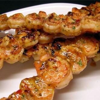 skewer shrimp