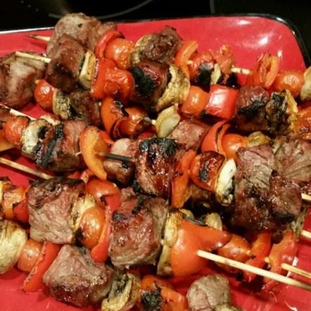 Steak Kabobos