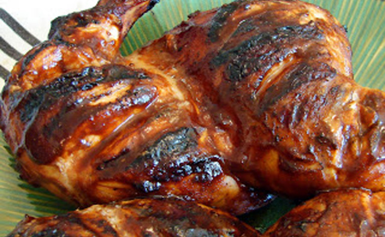 Punting with Spice Rubbed Barbecue GameHens