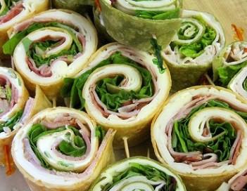 Turkey - Garden Vegetable Pinwheels