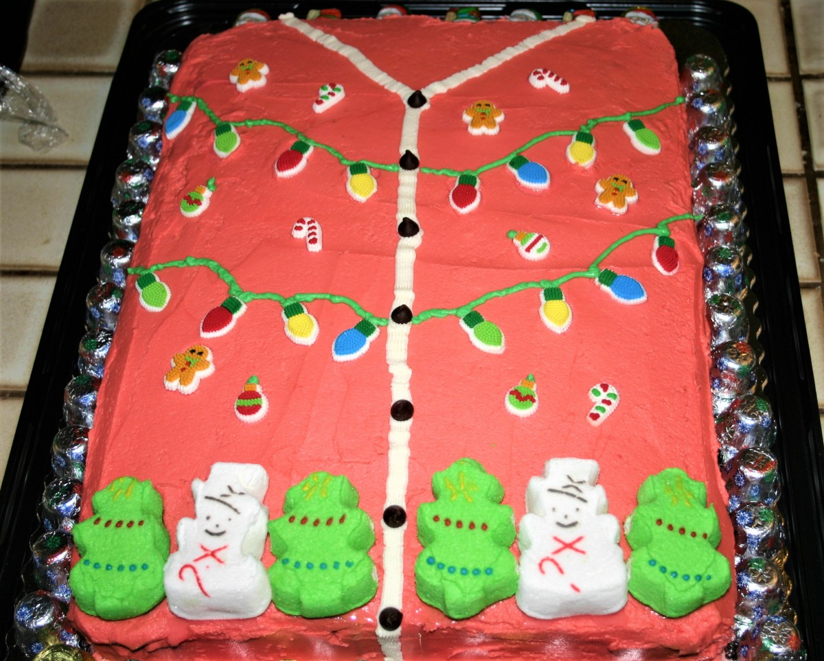 Ugly SweaterCake for Ugly SweaterDay