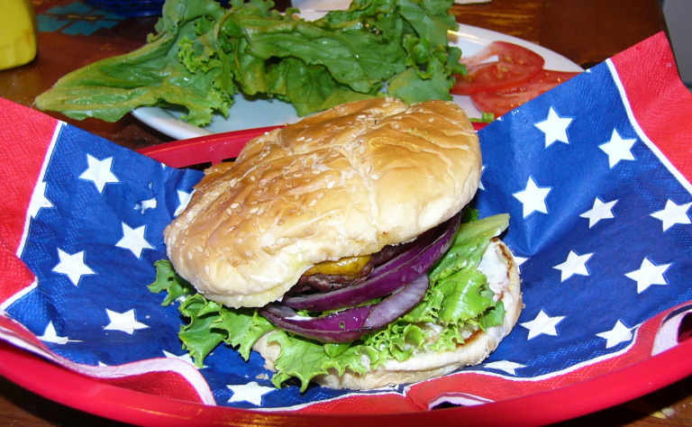 The Triumph of the All American SteakBurger