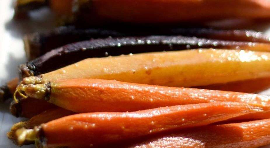 Bourbon-Brown Sugar-Maple GlazedCarrots