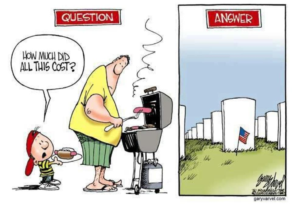 Memorial Day is More than just BackyardBarbecues