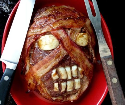 Mummy Head Meatloaf