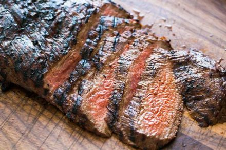 New Mexican Marinated Flank Steak