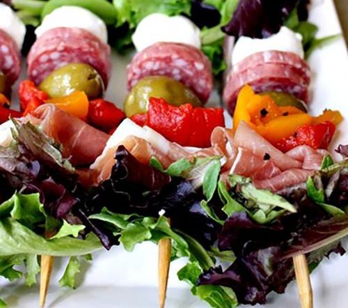 antipasto salad kabobos