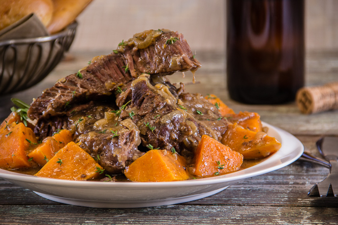 Christopher Columbus and a Caribbean Sweet Potato Pot Roast