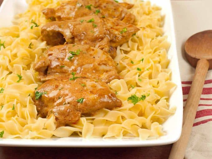 Chicken Paprikash and Dracula's Castle