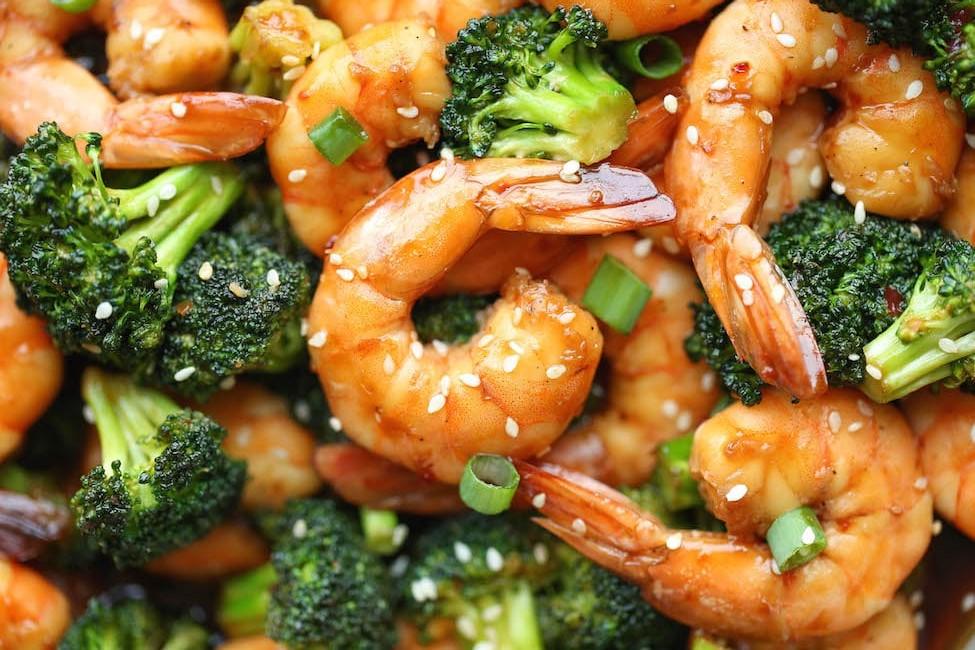 Easy Shrimp and BroccoliStir-Fry
