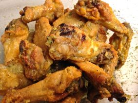 fried lemon pepper chicken wings