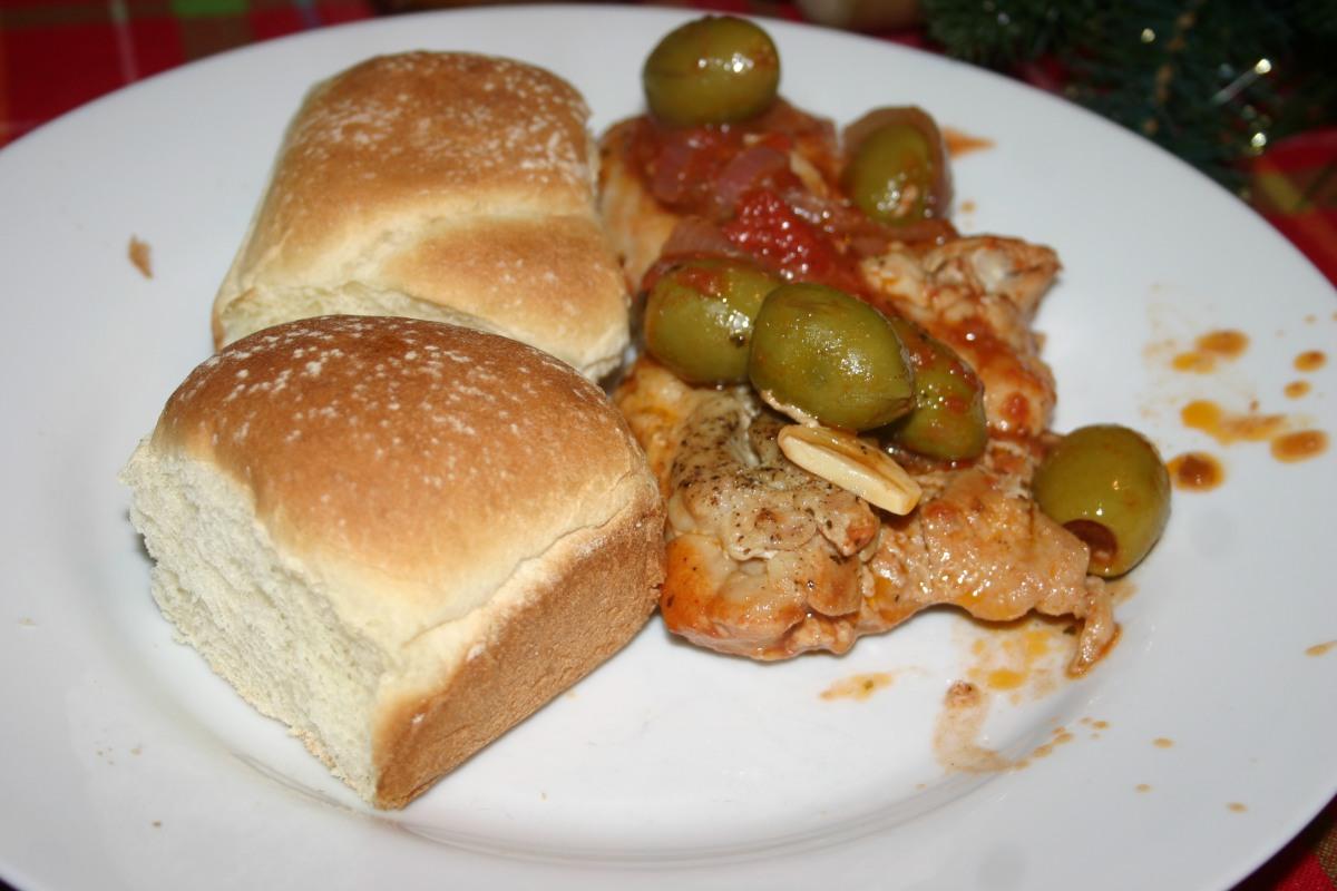 Mediterranean One-Pan ChickenThighs
