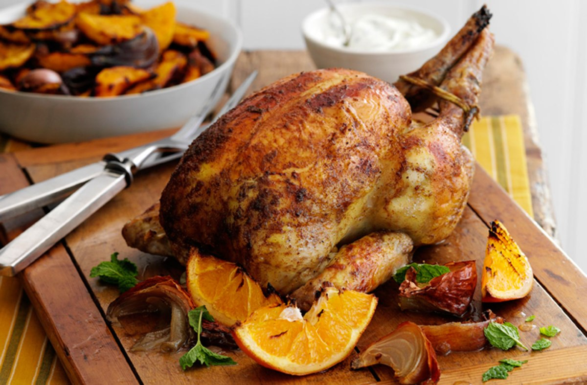 Orange and Spice and Everything Nice RoastChicken