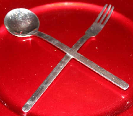 pasts spoon and fork
