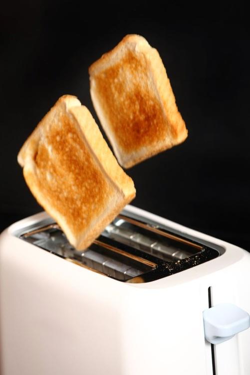 popping toast