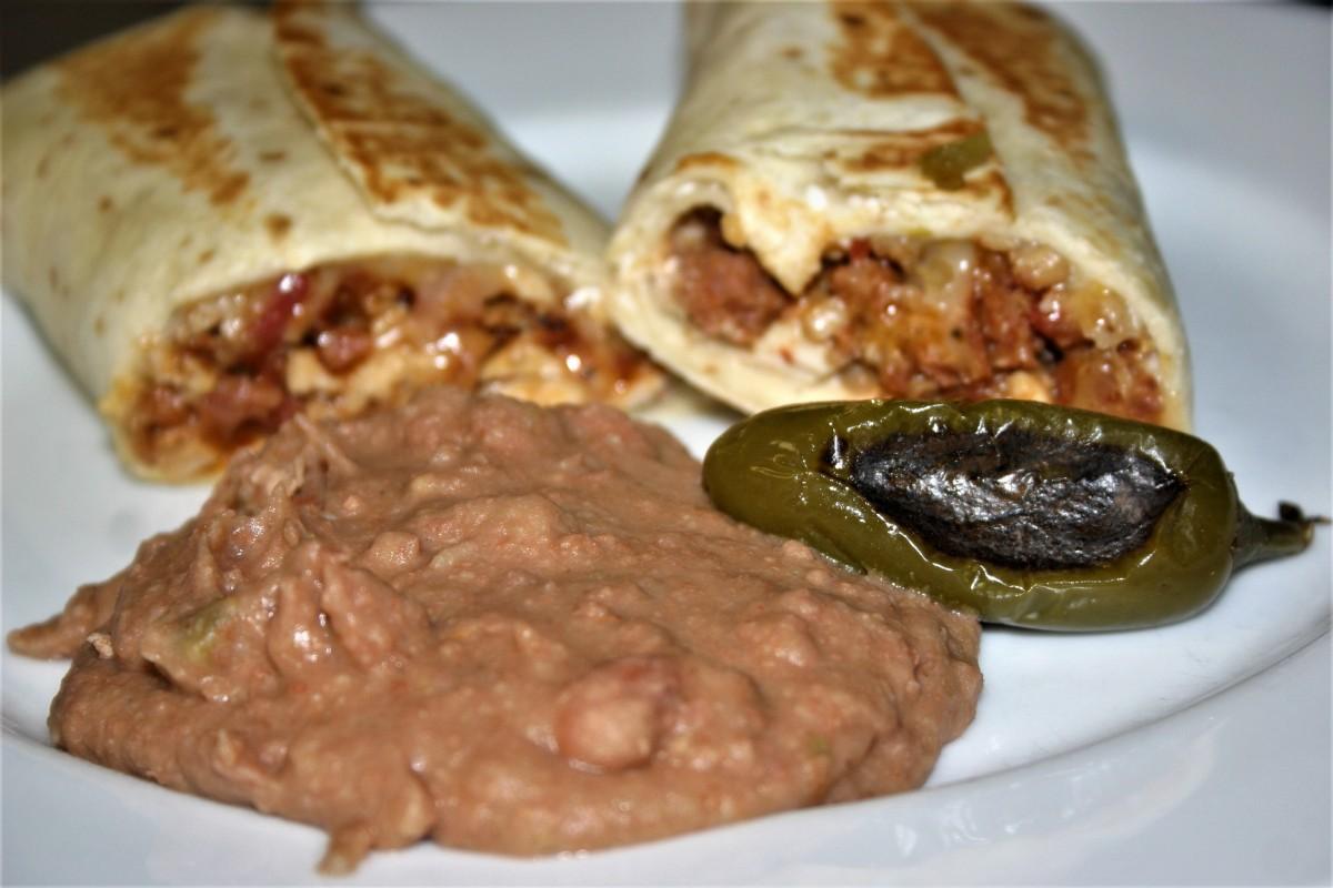 Portuguese Grilled Burritos
