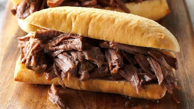 Slow-Cooker Chuck Roast French Dip