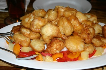 sweet sour pan-fried chicken (1)