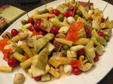 Antipasto with Palm Hearts