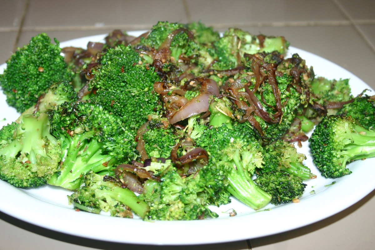 Sautéed Italian Broccoli with Onions
