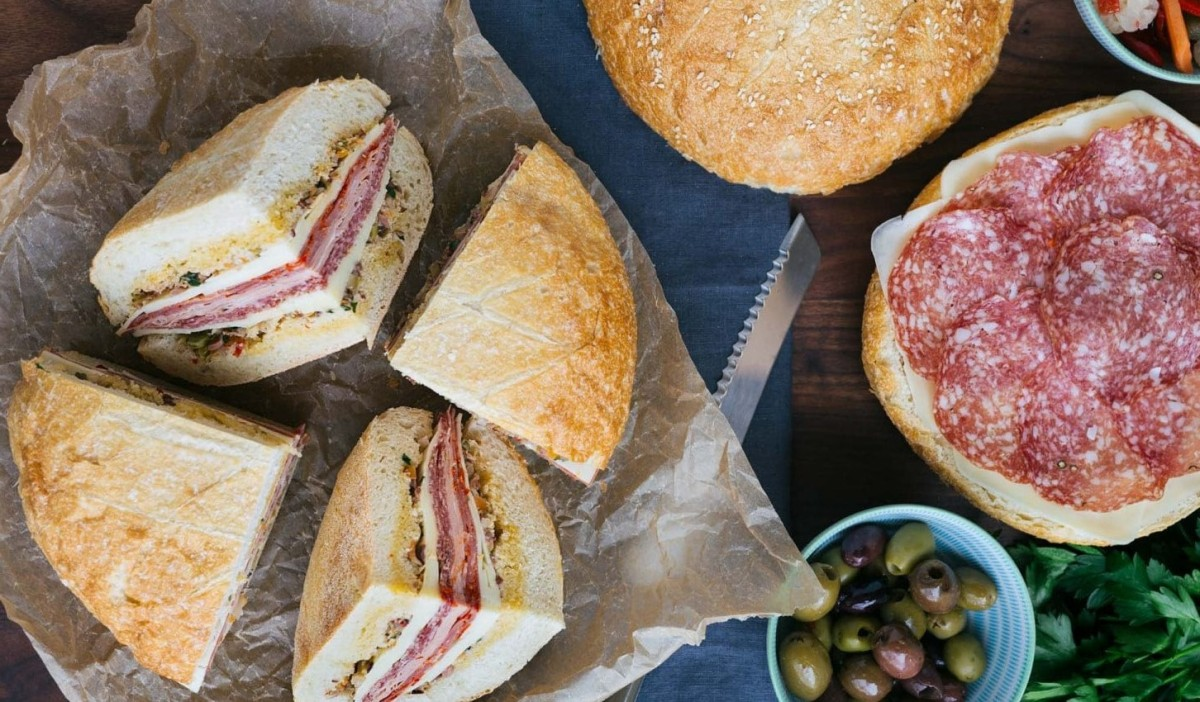 The Mardi Gras Picnic Muffuletta is AwesomeAnytime