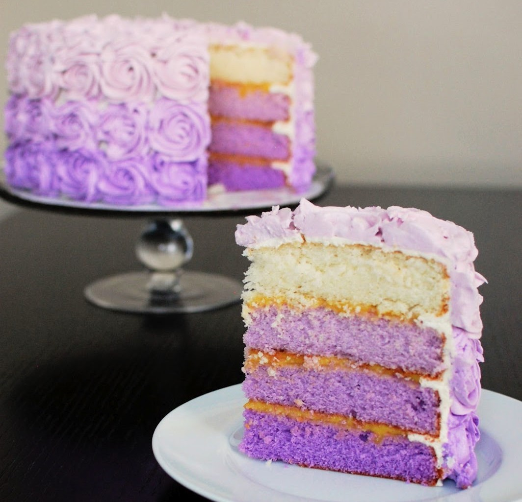 Holy Week and a Purple PassionCake