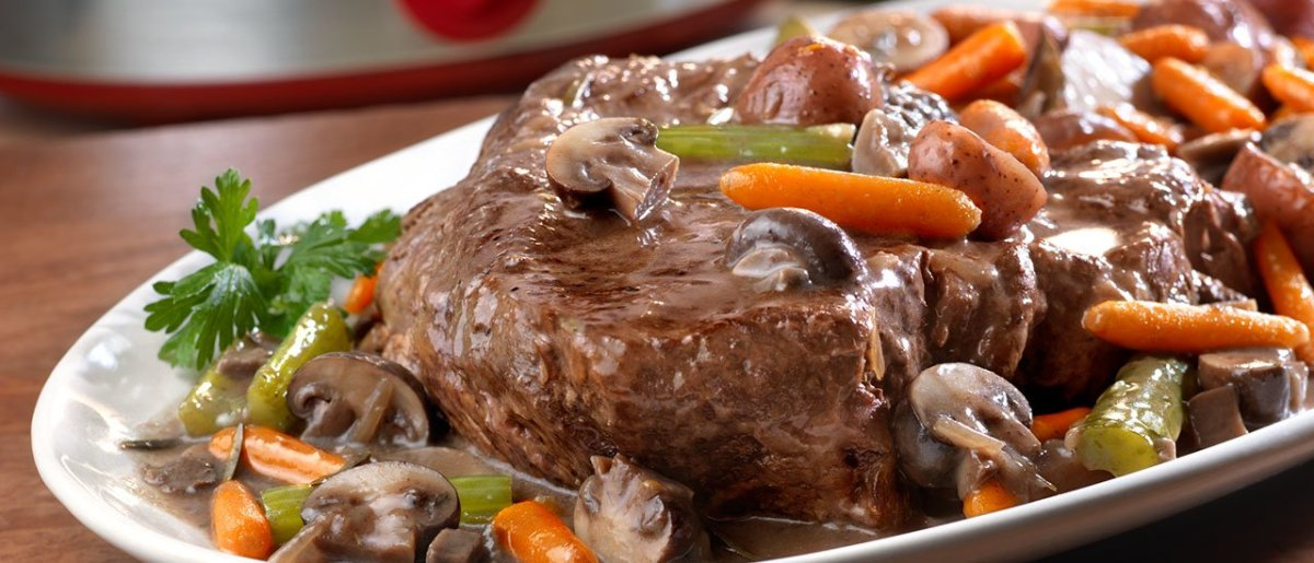 The Ultimate All Day Slow-Cooked Pot Roast