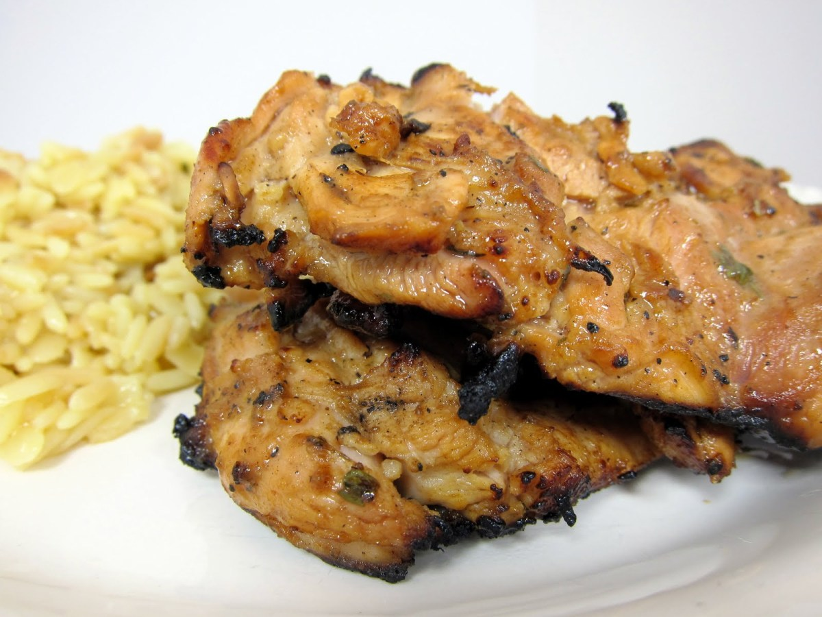 Marinated Grilled ChickenThighs
