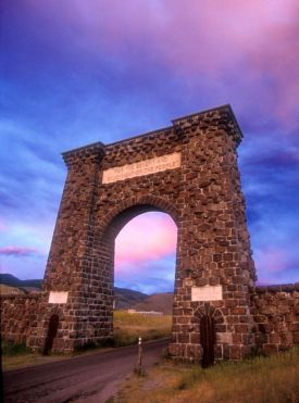 Montana Roosevelt Arch