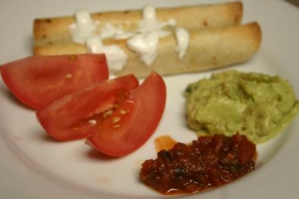 Bean and Chorizo FlourTaquitos (11)
