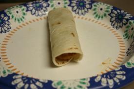 Bean and Chorizo FlourTaquitos (8)