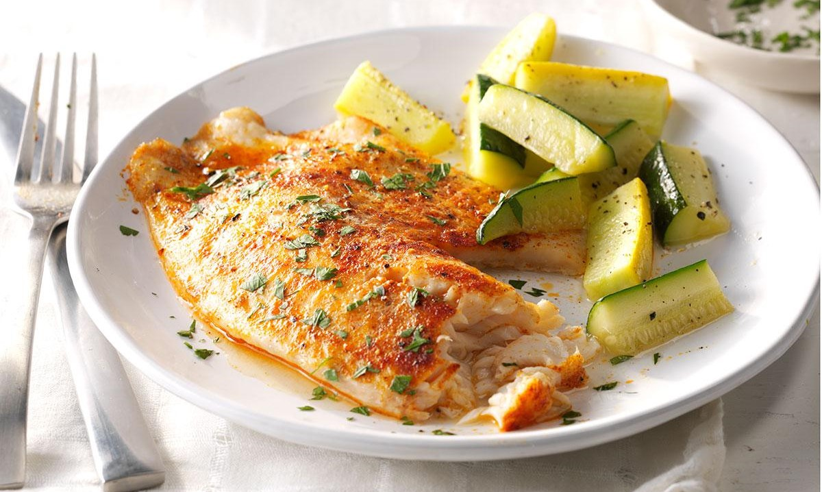Lemon Pepper Broiled Tilapia