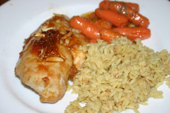 Apricot Almond Chicken (2)
