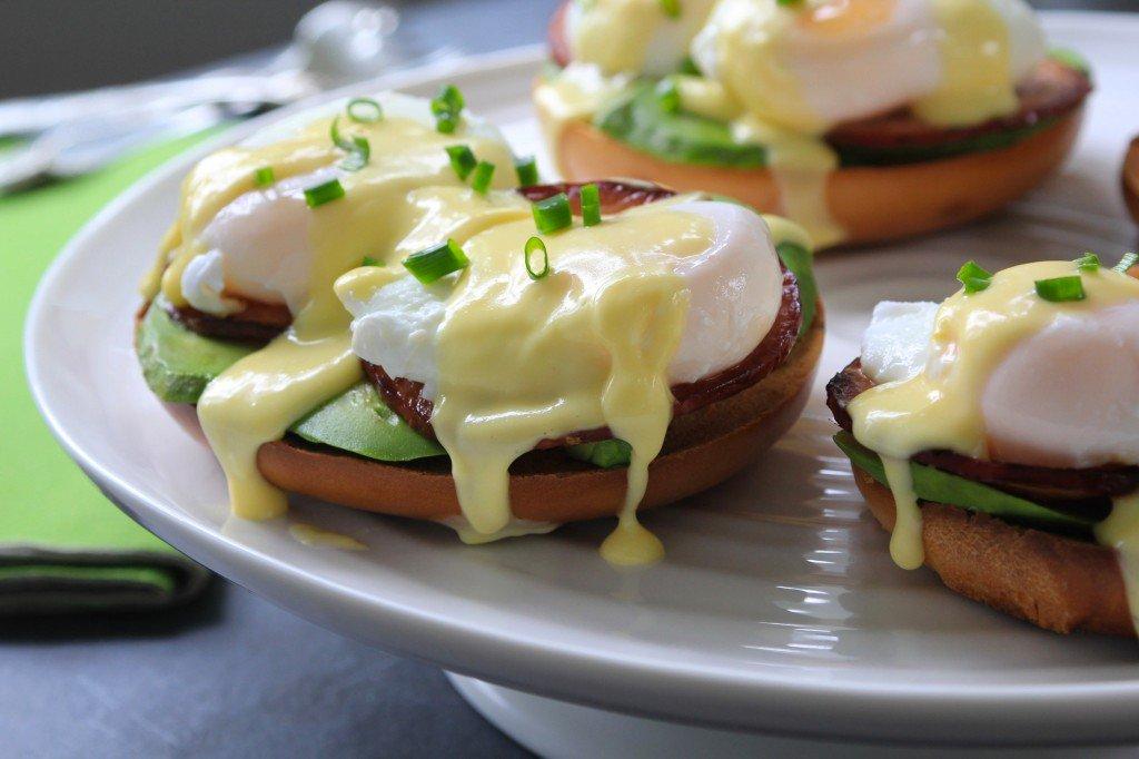 Bagelfest Eggs Benedict