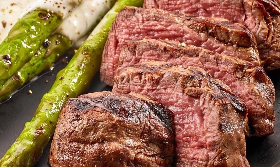 Pan-Seared Bison Steaks with Tarragon HerbOil