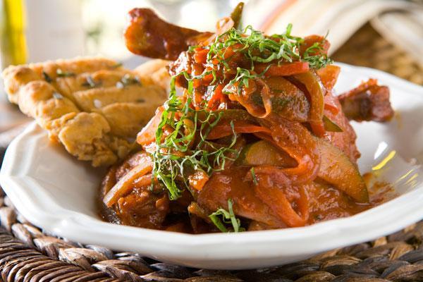 Nugget Chicken Cacciatore